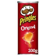 Pringles 200g Tubes Various Flavours to Choose from Half Price