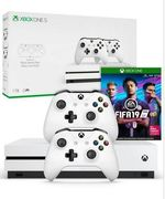 Xbox One S 1 TB + FIFA 19 + Extra Dual Wireless Controller Only £269.99