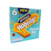 McVities Hobnob Coconut Snack Bar 6 X 30g Only £1 at Fulton Foods