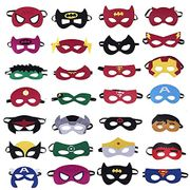Prime Day - 28 Superhero Masks - Kids Parties / Party Bags £7.99 / 28p Each
