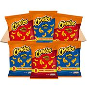 Cheetos USA Favourites Flamin' Hot and Cheese Puffs (48 Single Bags)
