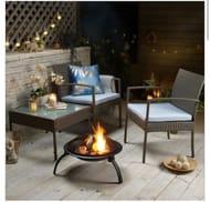 3 Piece Rattan Garden Furniture
