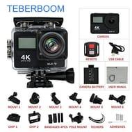 TEBERBOOM Action Camera 4K Ultra High Definition