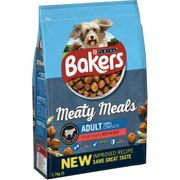Bakers Meaty Meals Adult Dog Food Beef 2.7kg