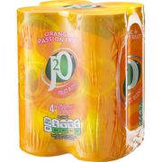 J2O Orange and Passionfruit Cans 4x250ml