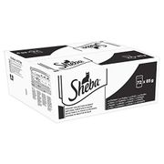 Sheba Select Slices in Gravy Wet Cat Food Pouches for Adult Cats X 72