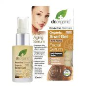 Dr Organic Snail Gel Face Serum Anti-Aging 30 ml - SAVE £9.50