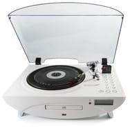 GPO Jive Retro Three-Speed Turntable with CD, FM Radio, MP3, USB, Speakers