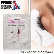 50 Salon Eyelash Extensions under Gel Eye Pads Lint Free Patches Make up Tool
