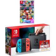 Nintendo Switch 32GB with Mario Kart 8 Deluxe - Neon Red/Blue Only £319
