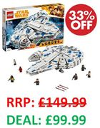GOING CHEAP! SAVE £50! LEGO Star Wars: Kessel Run Millennium Falcon (75212)