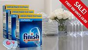 Finish Powerball Dishwasher Tablets - 110, 220, 330 or 440 from £6.99