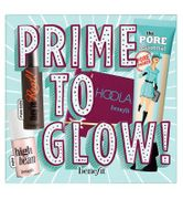 Benefit Prime to Glow, Primer Bronzer, Mascara & Highlighter Set
