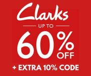 Clarks Extra 10% off in the up to 60% off Adults Sale + Free Delivery