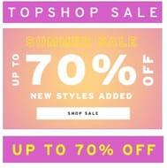 Topshop Summer Sale
