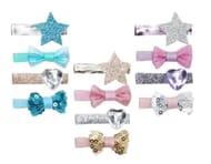 Luvley Magical Star Hairclip Set