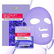 L'Oreal Revitalift Filler Hyaluronic Acid Re-Usable Sheet Face Mask 50ml