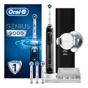 Oral-B GENIUS 9000 Black Electric Toothbrush Powered by Braun