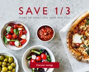 Save 1/3 on Selected Mediterranean Favourites