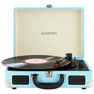 Goodmans Revive Bluetooth Turntable - Blue