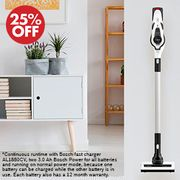25% off Bosch Unlimited Cordless Vacuum Cleaner