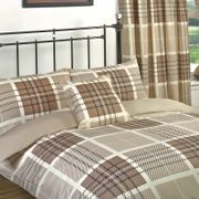 """Duvet Set and Matching Curtains - Double Size-66""""72"""""""
