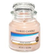 Yankee Candles Classic Small Jar Candle in Pink Sands Only £5