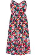 Up to 50% off Navy Tropical Maxi Dress