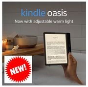 ALL NEW KINDLE OASIS, Now with Adjustable Warm Light