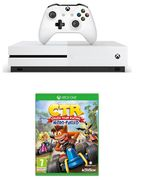 MICROSOFT Xbox One S with Crash Team Racing-Nitro Fuelled-1 TB Only £229