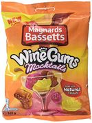 Maynards Bassetts Wine Gums Mocktails, 165 G, Pack of 10