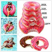 Inflatable Donut Swim Ring Tube Pool Float Lounger Beach Swimming Outdoor Lilo