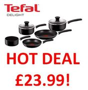 BETTER THAN 1/2 PRICE! Tefal Delight Cookware Set - FREE DELIVERY