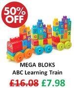 Mega Bloks - ABC Learning Train **4.7 STARS**