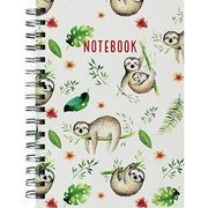 A5 Wiro Sloth Design Notebook