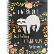 A4 Wiro I Work out JK Notebook
