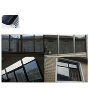 Privacy Window Film Self Adhesive No Glue and Easy Removable,