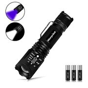 Morpilot LED Torch UV Torch 2 in 1 Black Light Torches