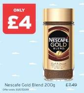 Nescaf Gold Blend 47%off@ Onestop