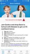 £15 off School Uniform Spend