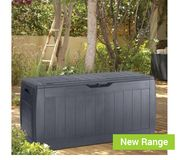 Keter Hollywood Patio Box Anthracite Only £20