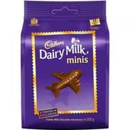 Cadbury Dairy Milk Minis DUTY FREE EXCLUSIVE 200g. Bbe 7/10/19