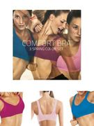 Pack of 3 Seamless Wire Free Comfort Bras £4.95 Delivered