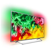 """Philips 55"""" Smart Ambilight 4K Ultra HD TV with Freeview Play £386.10 with Code"""