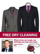 Free Dry Cleaning for Unemployed at Timpson