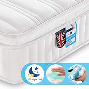 Small Breathable Pocket Sprung Mattress