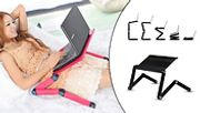 Adjustable Folding Laptop Stand - 2 Colours