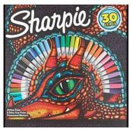 Better than Half Price! Sharpie Lizard Eye Box 30Pk