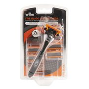Wilko Five Blade System Men's Razor and Blades Order and Collect