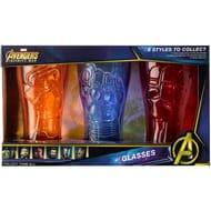 MARVEL DRINKING GLASSES (Iron Man | Cpt America | Iron Spider)
